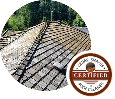 Cedar Shake Roof Cleaning Vancouver BC